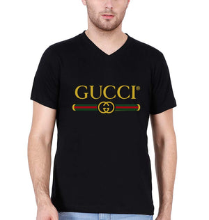 Gucci V Neck T-Shirt for Men