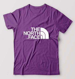 The North Face T-Shirt For Men-M(40 Inches)-Purple-ektarfa.com