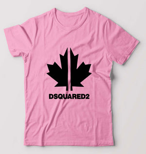 DSQUARED2 T-Shirt for Men-S(38 Inches)-Light Baby Pink-ektarfa.com