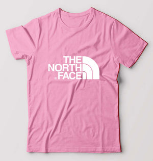 The North Face T-Shirt For Men-S(38 Inches)-Light Pink-ektarfa.com