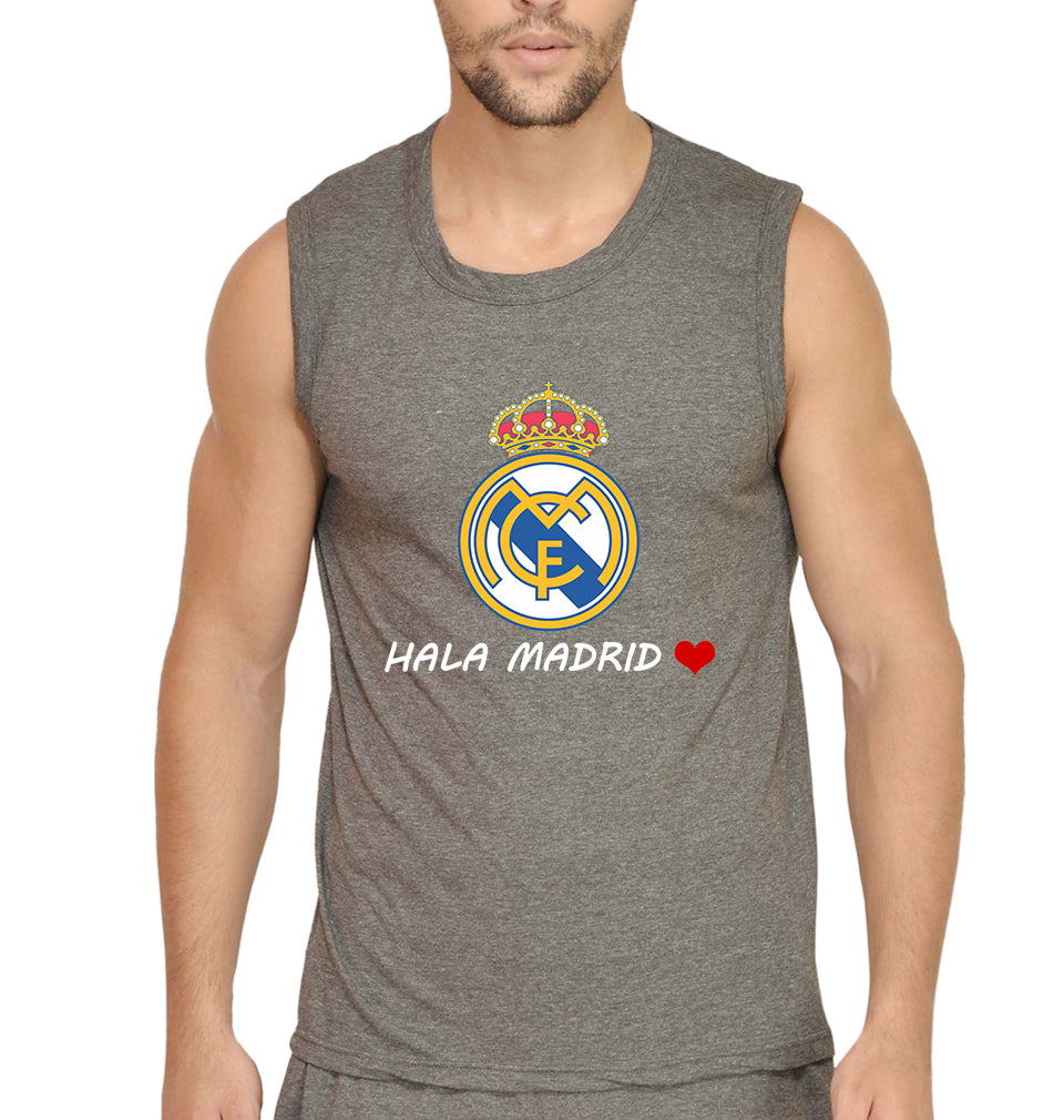 Hala Madrid Sleeveless T-Shirt for Men