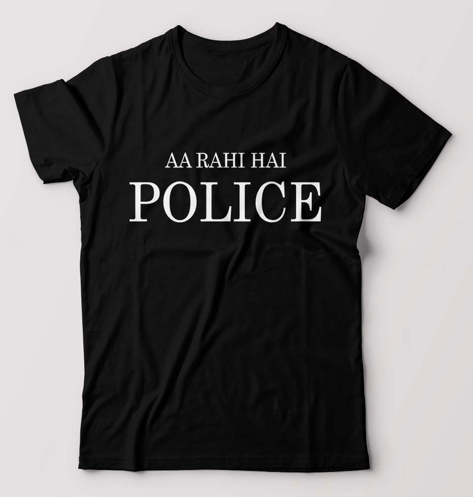 AA Rahi Hai Police T-Shirt for Men