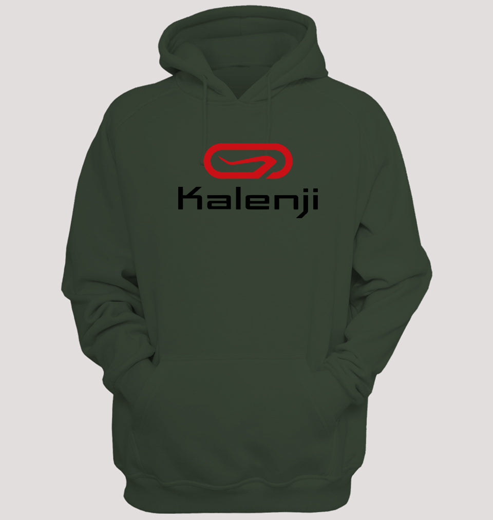 Kalenji Hoodie for Men-S(40 Inches)-Olive Green-ektarfa.com
