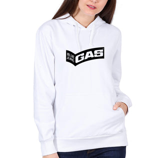 Gas Hoodie for Women-S(40 Inches)-White-ektarfa.com