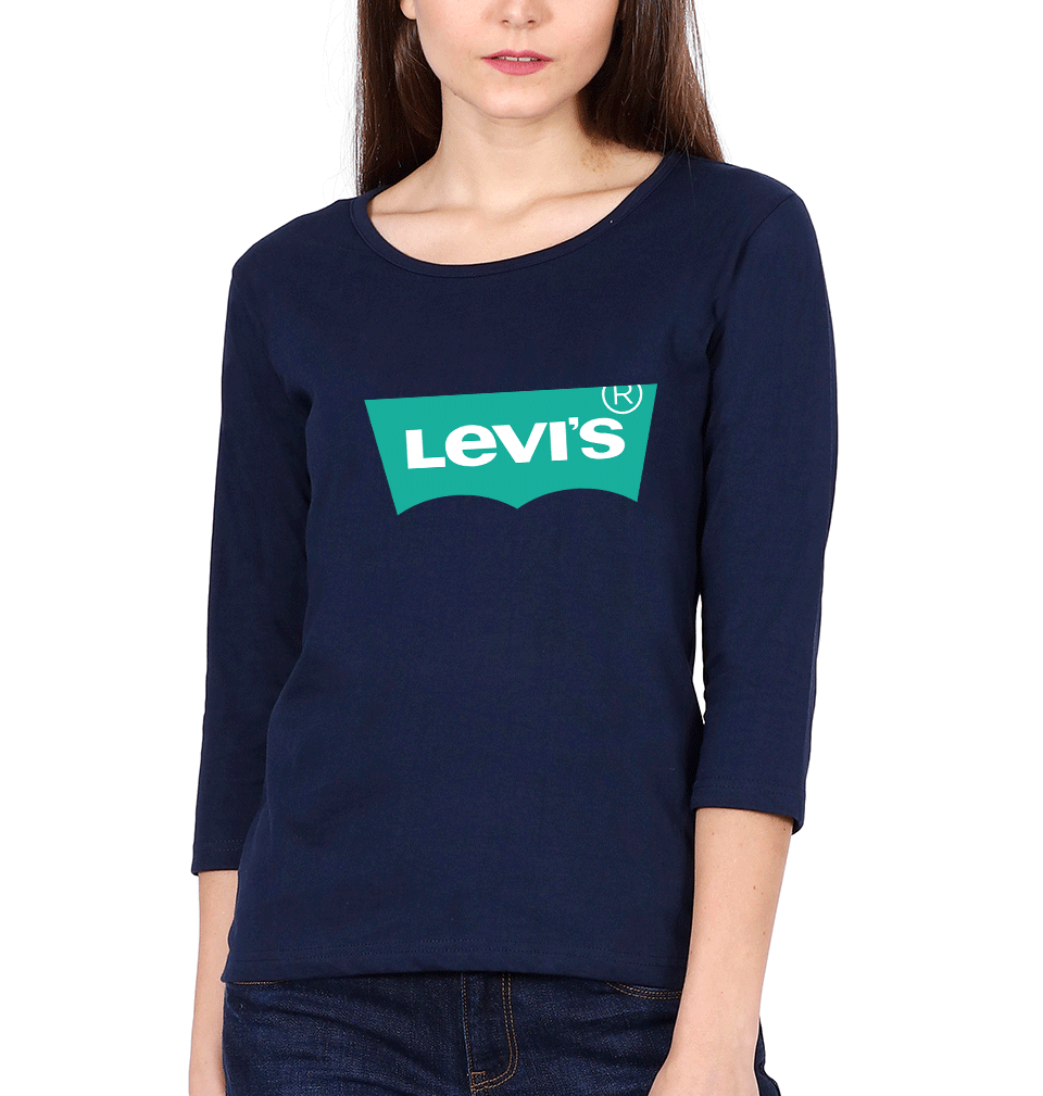 Levis Full Sleeves T-Shirt for Women
