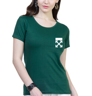 off White logo T-Shirt for Women