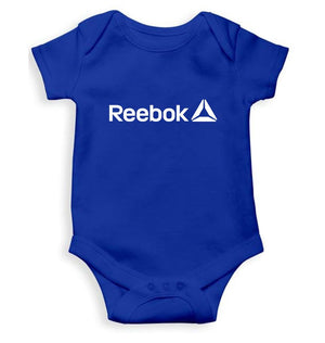 Reebok Romper For Baby Boy-0-5 Months(18 Inches)-Royal Blue-ektarfa.com