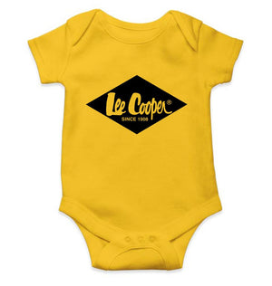 Lee Cooper Romper For Baby Boy-0-5 Months(18 Inches)-Yellow-ektarfa.com