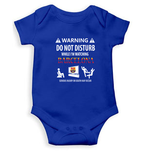 Warning FCB Kids Romper For Baby Boy/Girl