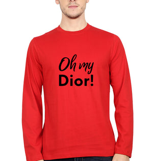 Oh My Dior Full Sleeves T-Shirt for Men