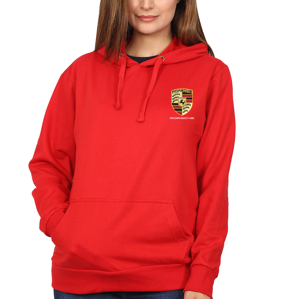 Porsche Pocket Logo Hoodie for Women