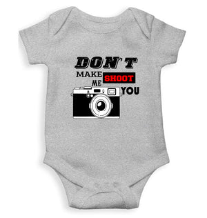 don't make me shoot u Kids Romper For Baby Boy/Girl