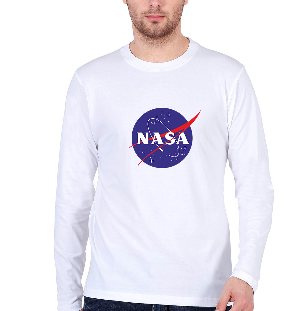Nasa Full Sleeves T-Shirt for Men
