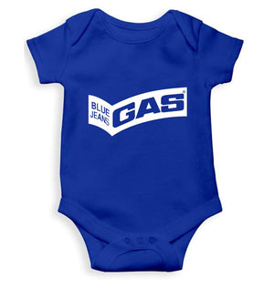 Gas Romper For Baby Boy-0-5 Months(18 Inches)-Royal Blue-ektarfa.com