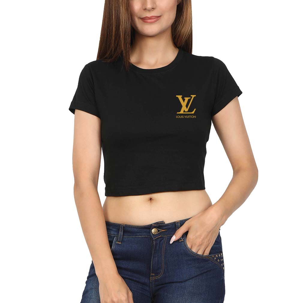 Louis Vuitton(LV) Logo Crop Top for Women