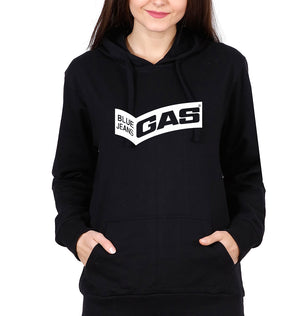 Gas Hoodie for Women-S(40 Inches)-Black-ektarfa.com