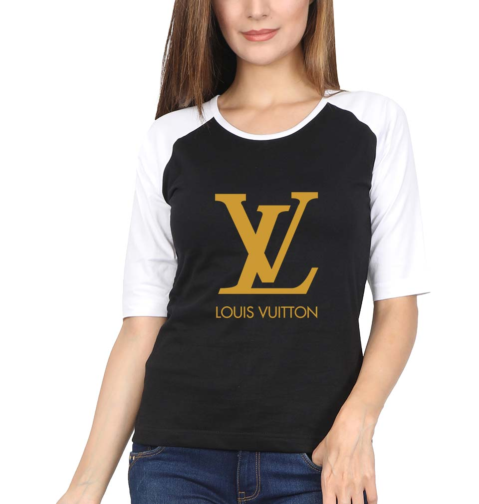 Louis Vuitton(LV) Full Sleeves Raglan T-Shirt for Women