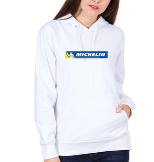 Michelin Hoodie for Women-S(40 Inches)-White-ektarfa.com