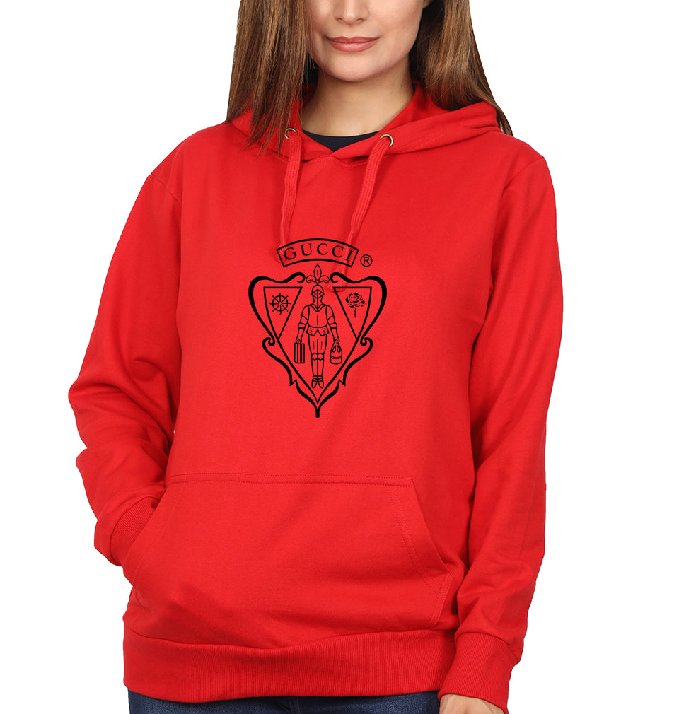Gucci Hoodie for Women-S(40 Inches)-Red-ektarfa.com
