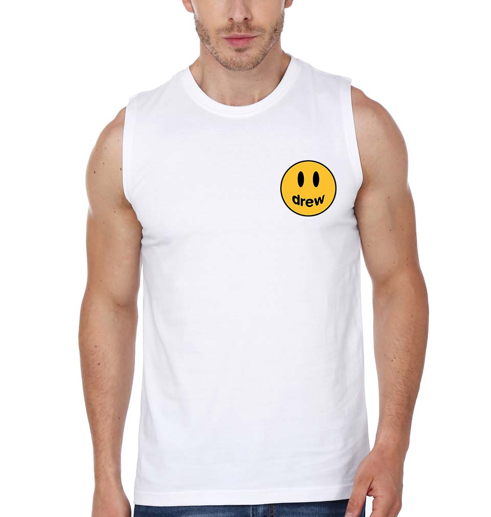 Drew House Logo Sleeveless T-Shirt for Men