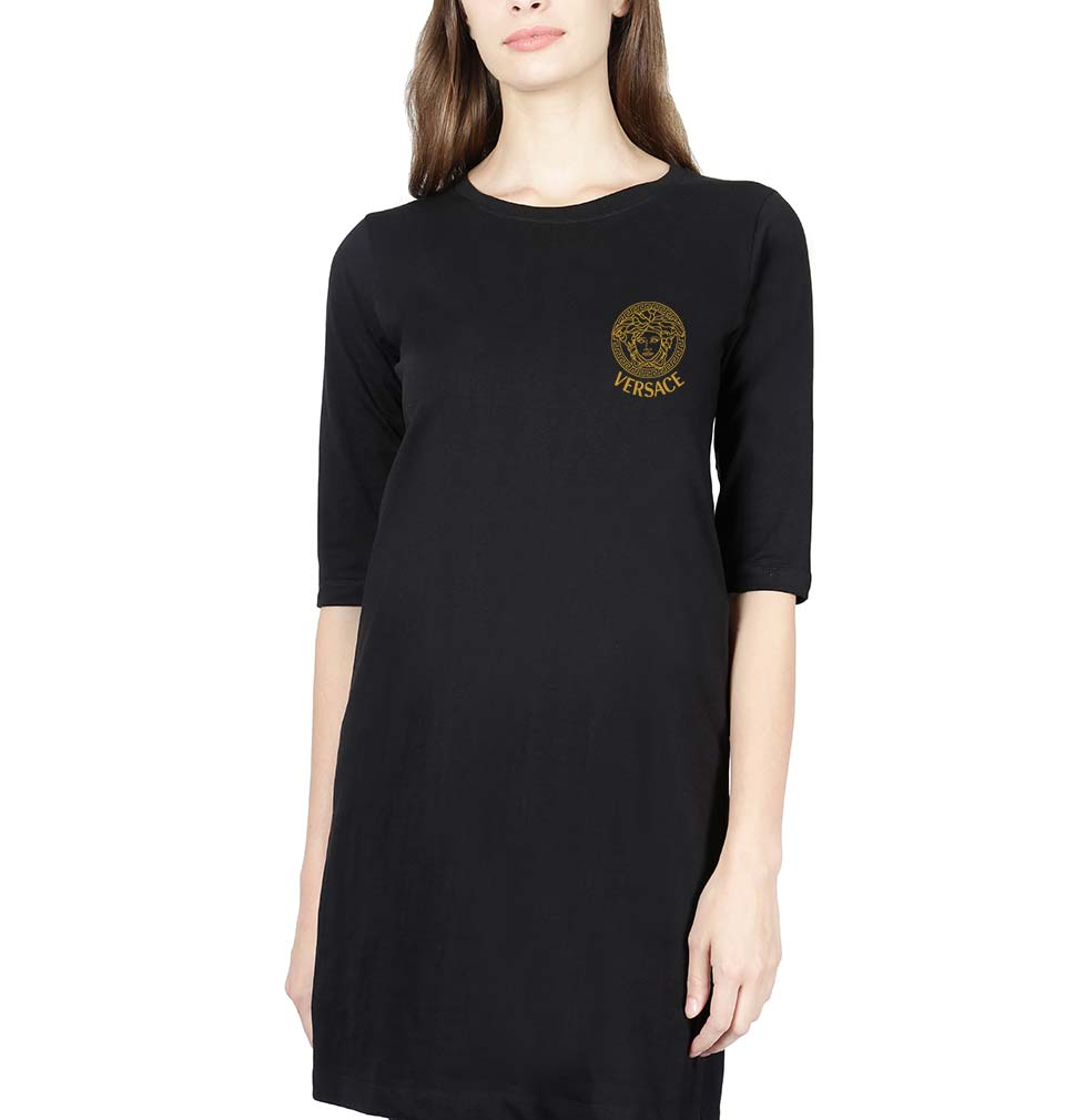 Versace Logo Long Top for Women