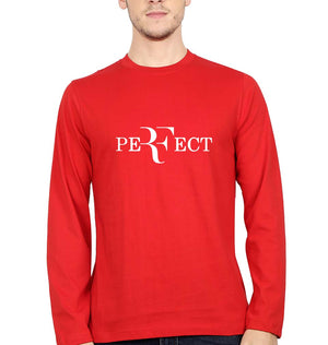 Roger Federer Perfect Full Sleeves T-Shirt for Men