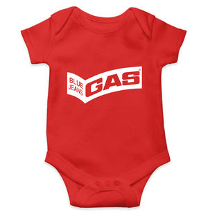 Gas Romper For Baby Boy-0-5 Months(18 Inches)-Red-ektarfa.com