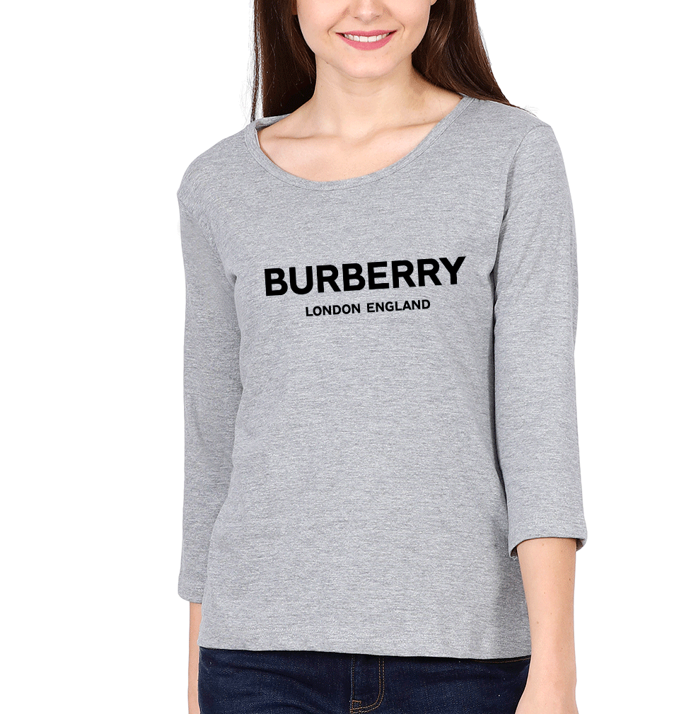Burberry Full Sleeves T-Shirt for Women