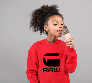 G Raw Hoodie for Girl