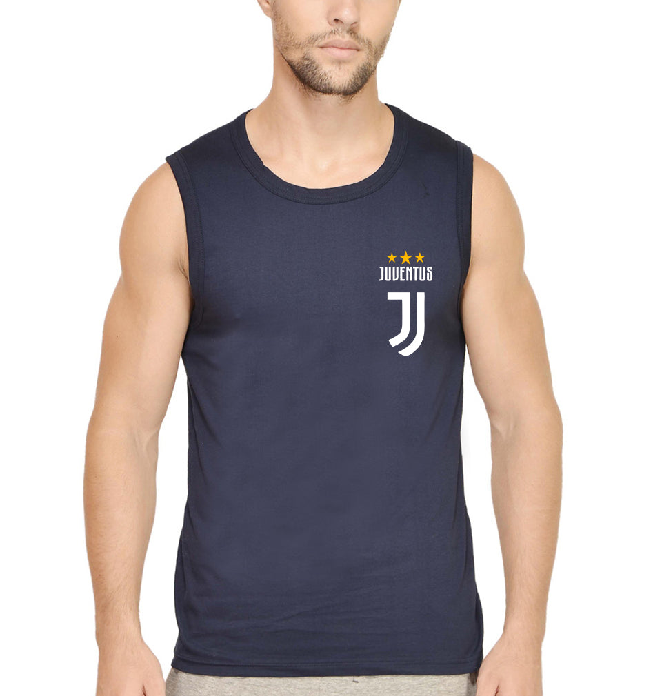 Juventus Logo Sleeveless T-Shirt for Men