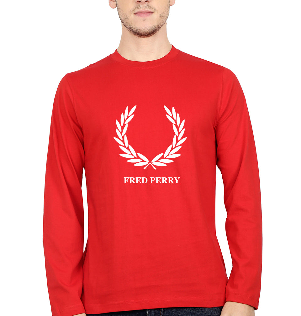 Fred Perry Full Sleeves T-Shirt for Men