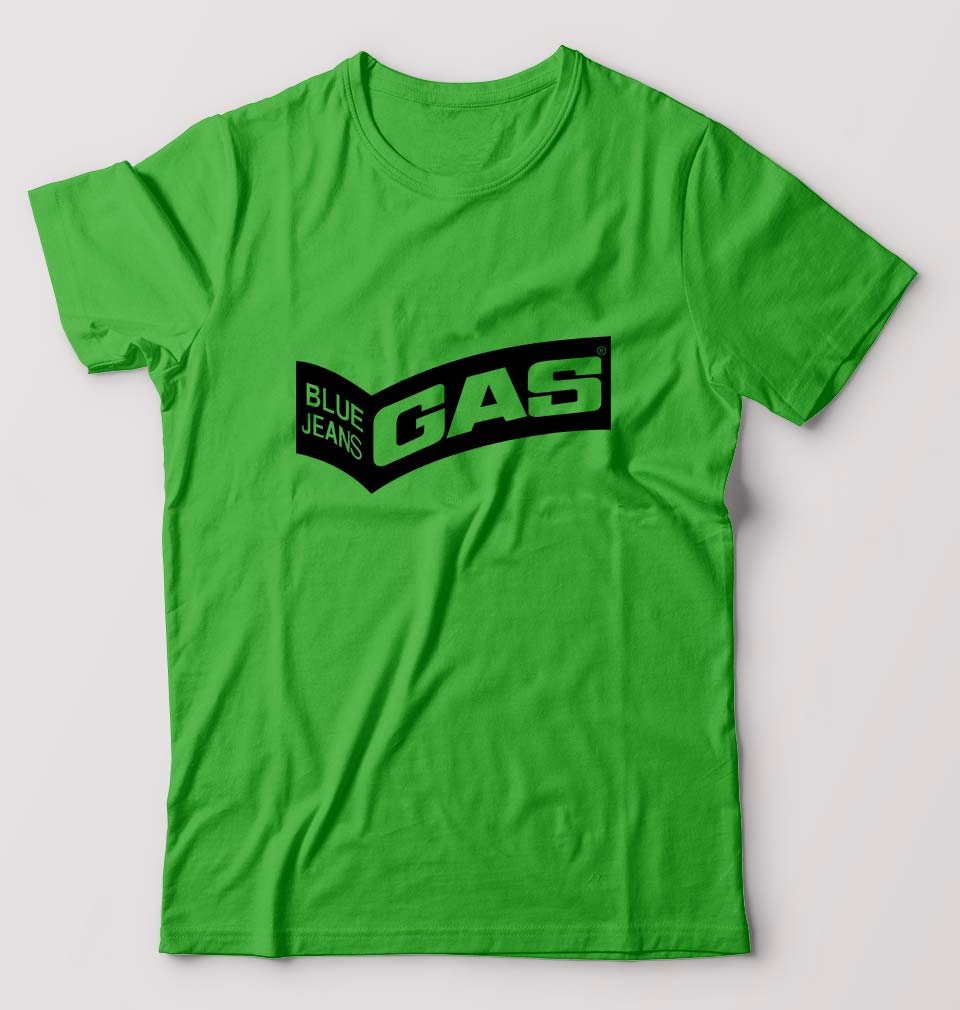 Gas T-Shirt for Men-S(38 Inches)-flag green-ektarfa.com
