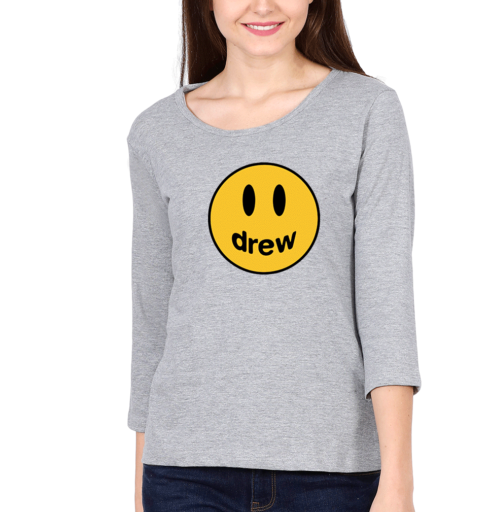 Drew House Full Sleeves T-Shirt for Women