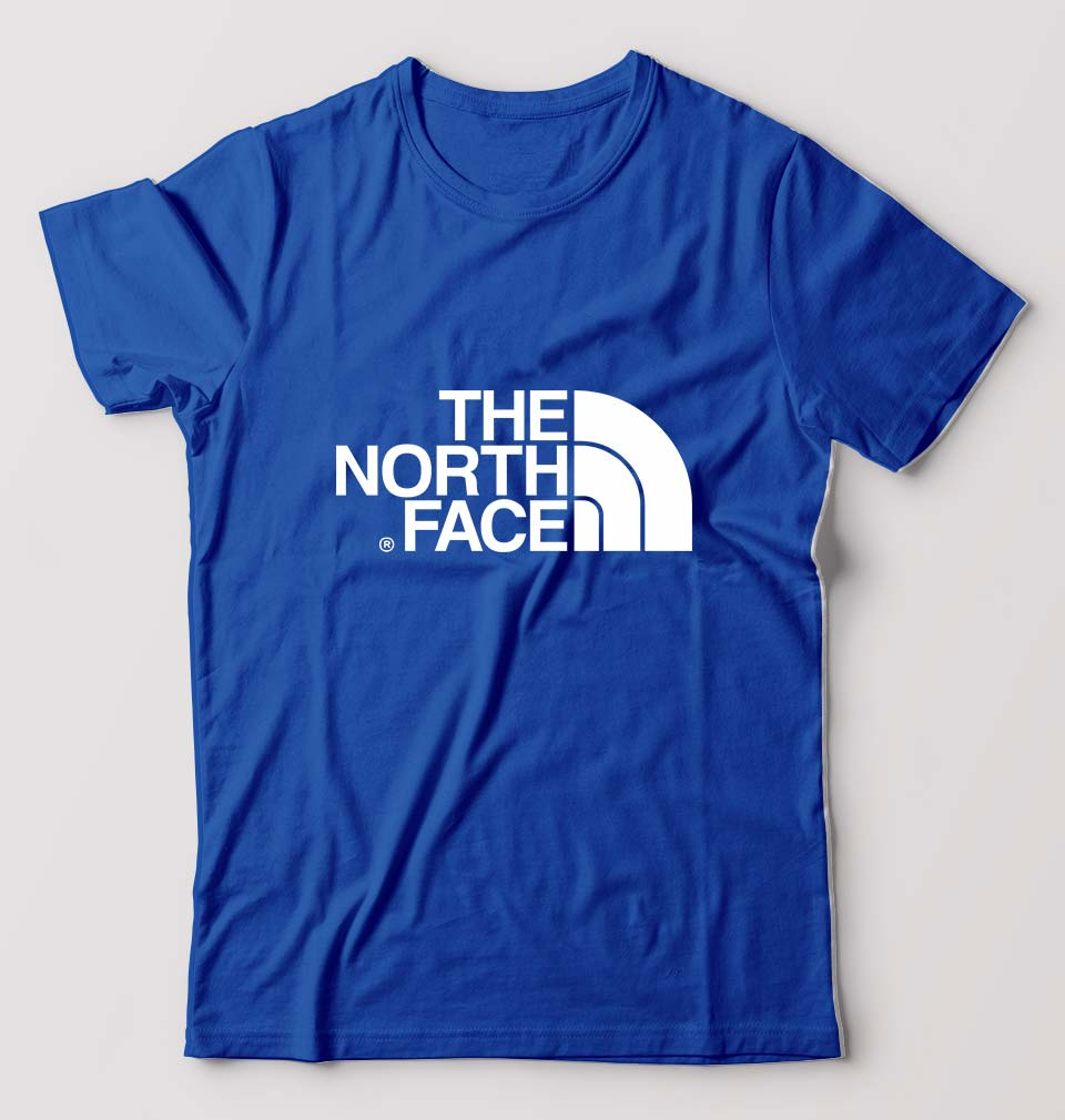 The North Face T-Shirt For Men-M(40 Inches)-Royal Blue-ektarfa.com