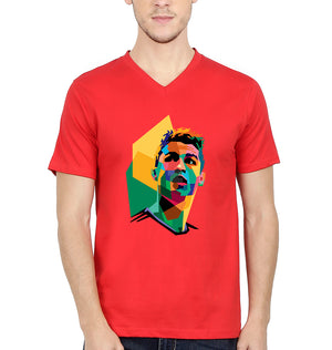 Cristiano Ronaldo CR7 V Neck T-Shirt for Men