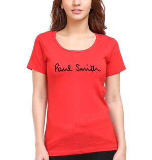 Paul Smith T-Shirt for Women-XS(32 Inches)-Red-ektarfa.com