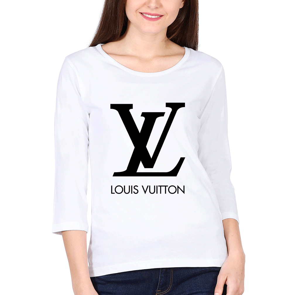 Louis Vuitton(LV) Full Sleeves T-Shirt for Women