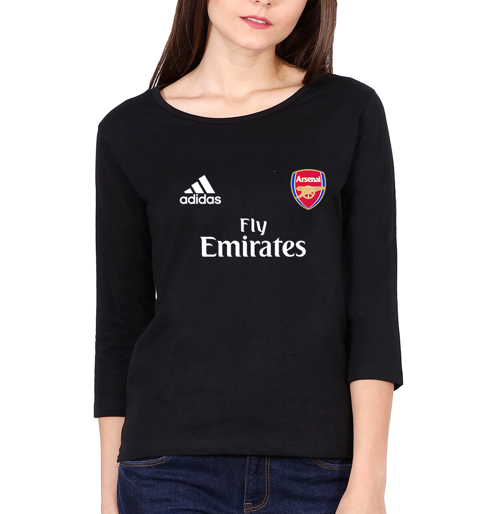 Arsenal Full Sleeves T-Shirt for Women