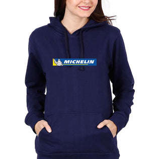 Michelin Hoodie for Women-S(40 Inches)-Navy Blue-ektarfa.com