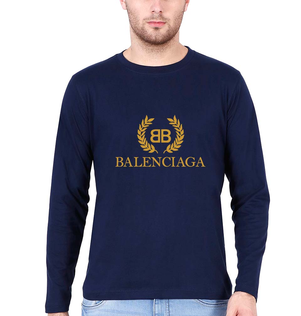Balenciaga Full Sleeves T-Shirt for Men