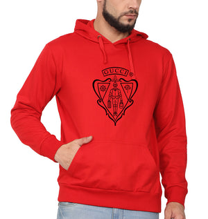 Gucci Hoodie for Men-S(40 Inches)-Red-ektarfa.com