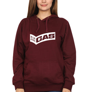 Gas Hoodie for Women-S(40 Inches)-Maroon-ektarfa.com