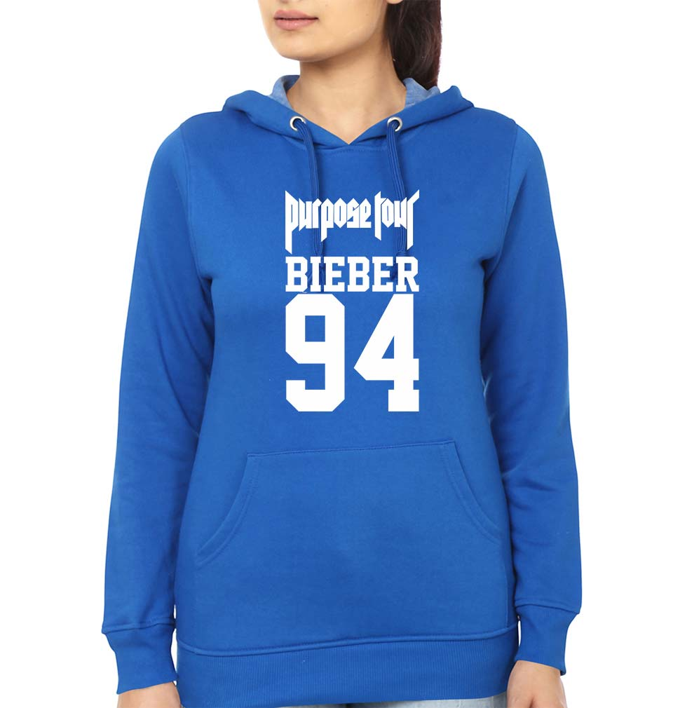 Purpose Tour Bieber Hoodie for Women