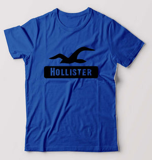 Hollister T-Shirt for Men-S(38 Inches)-Royal Blue-ektarfa.com