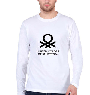 United Colors of Benetton (UCB) Full Sleeves T-Shirt for Men