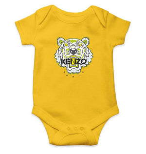 Kenzo Paris Romper For Baby Boy-0-5 Months(18 Inches)-Yellow-ektarfa.com