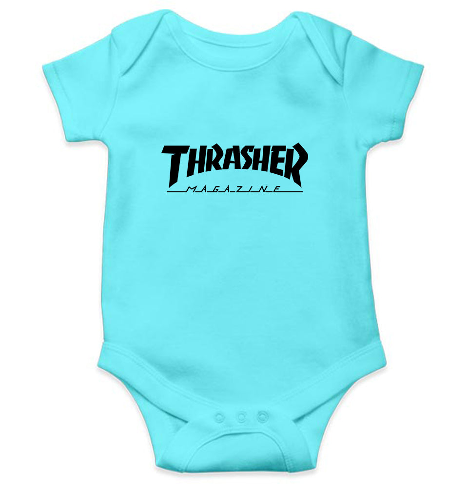 Thrasher Magazine Romper For Baby Boy
