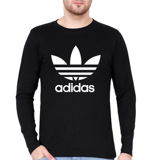Adidas Full Sleeves T-Shirt For Men-3XL(48 Inches)-Black-ektarfa.com