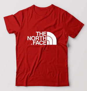 The North Face T-Shirt For Men-M(40 Inches)-Red-ektarfa.com