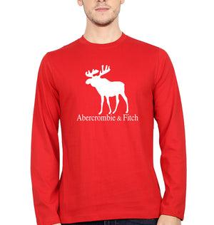 Abercrombie & Fitch Full Sleeves T-Shirt for Men